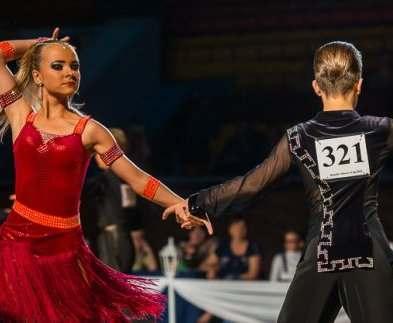 В Харькове пройдет международный фестиваль по спортивным бальным танцам