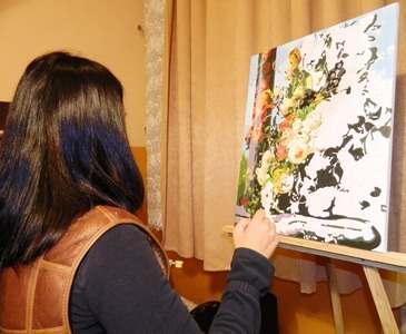 Заключенные проводят мастер-классы по живописи
