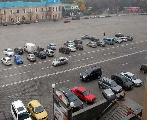 Площадь Свободы снова привлекла внимание харьковчан