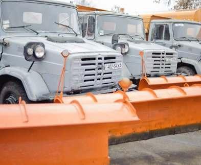 В Харькове готовятся к большому снегу