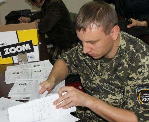 Ветераны АТО получили участки земли под Харьковом