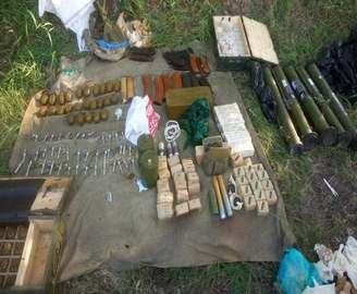 Под Харьковом обнаружили схрон с боеприпасами