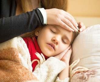 Если у ребенка поднялась температура
