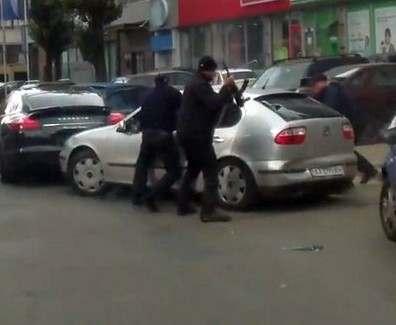 Кто стрелял в центре Харькова