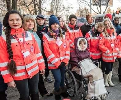 В Харькове открыли молодежный центр Красного Креста