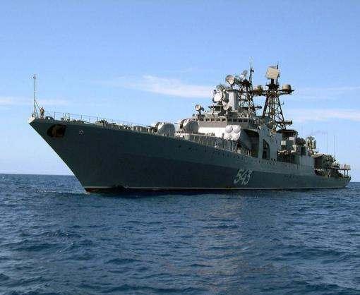 Украинское судно задержали за контрабанду