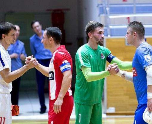 Мини-футбол: «Ураган» и «Локомотив» сделали боевую ничью