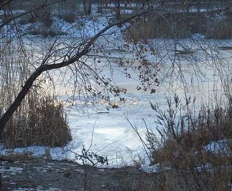 На Харьковщине шестилетний мальчик провалился под лед
