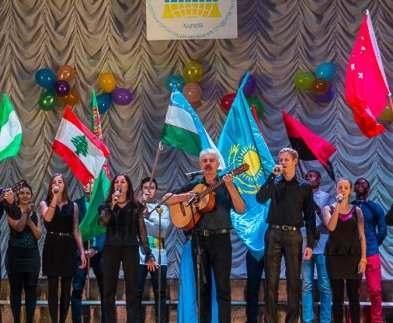 В Харькове прошел фестиваль иностранных студентов