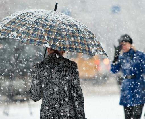 Украинцев предупреждают о резком ухудшении погодных условий