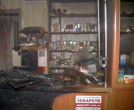 Пожар в Харькове: на Салтовке горела аптека