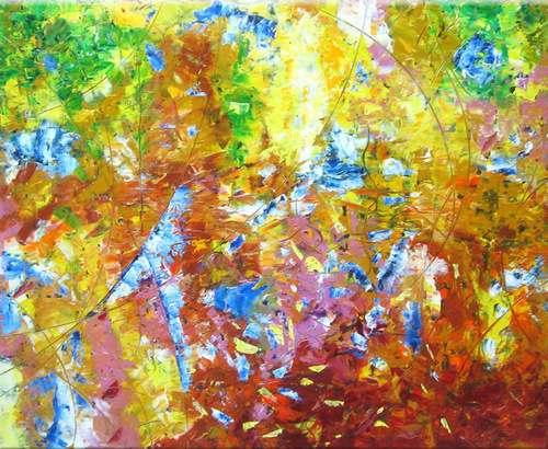 Цвет, звучащий музыкой: харьковчане открывают для себя живопись Николая Крамаренко