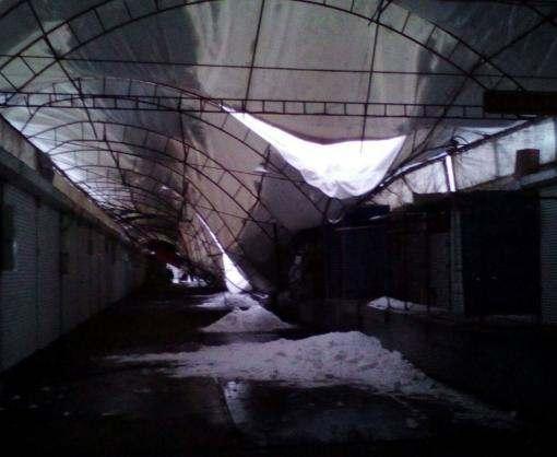 «Барабашово» осталось без крыши