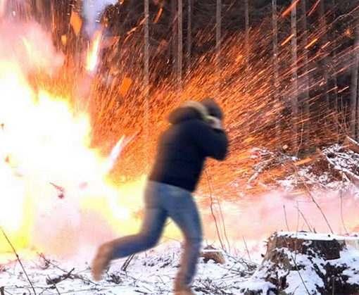 В Харькове на Салтовке сработало взывное устройство