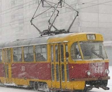Трамвай №16 будет ходить по измененному маршруту до конца декабря