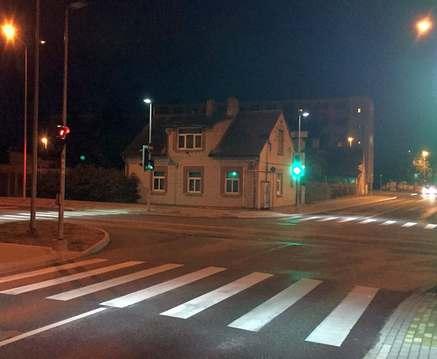 В Харькове появятся светящиеся переходы