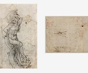 Найденный в Париже неизвестный эскиз да Винчи признали подлинным
