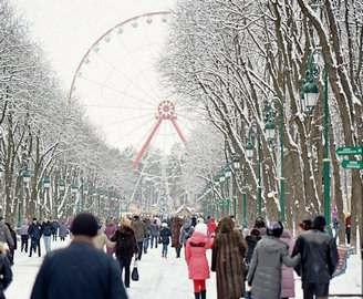 В парке Горького установят рождественский вертеп