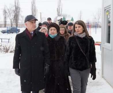 Посол Германии посетил модульный городок