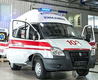 В Харьков поступили новые машины скорой помощи