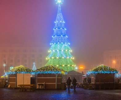 Завтра на площади Свободы в Харькове откроется новогодняя ярмарка