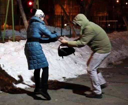 В центре Харькова напали на девушку