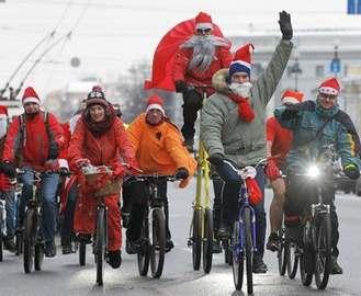 По Харькову заколесят Деды Морозы