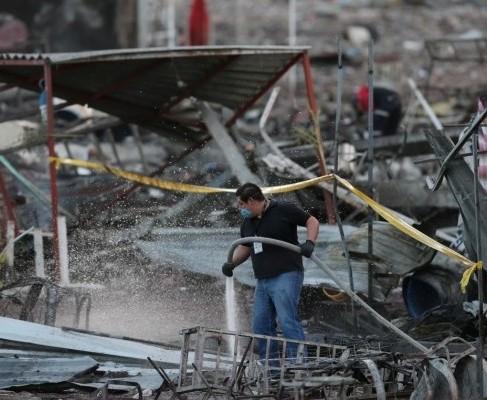 В Мексике на ярмарке фейерверков произошел взрыв: десятки погибших (видео)