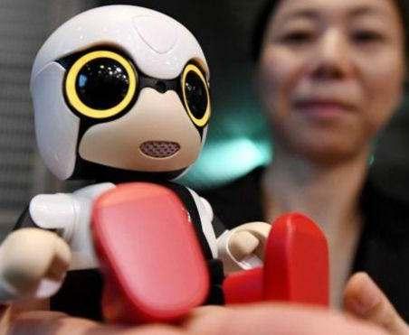 Для одиноких японцев создали ребенка-робота