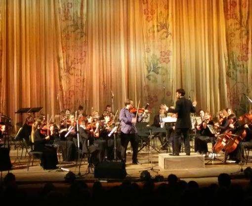 Харьковские газодобытчики подарили сельской детворе праздник классической музыки