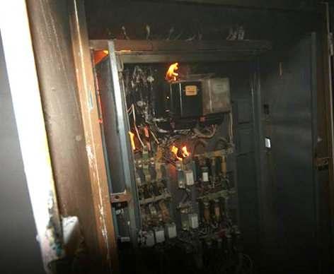 Из-за аварии в Харькове областной дом ребенка остался без электричества