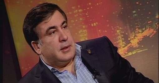 Михеил Саакашвили на телеканале Р1: видео