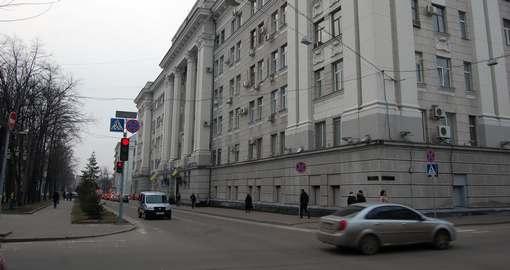 В центре Харькове сожгли тюрьму