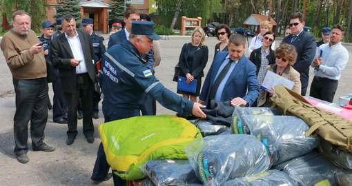 Саперы получили от Евросоюза оборудование для разминирования Донбасса