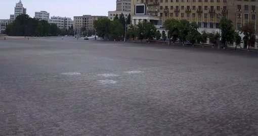 В Харькове перекрывают площадь Свободы