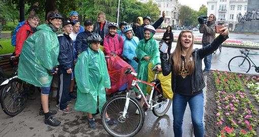 Велосипедисты из Харькова решили покорить «Вышиваный шлях»