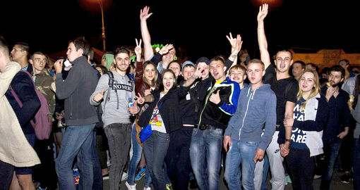 В Харькове на площади Свободы будут крутить кино