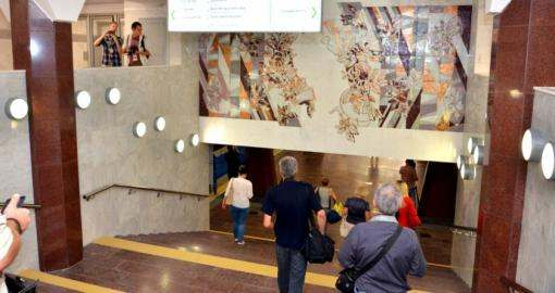Как в Харькове открывали станцию метро «Победа»