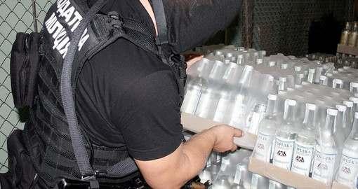 Все изготовители и реализаторы паленой водки на Харьковщине арестованы