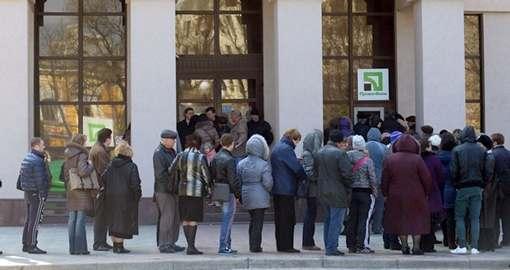 Клиенты «Приватбанка» оказались в растерянности