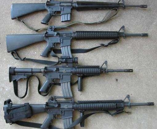 В Украине наладят производство американской винтовки M-16