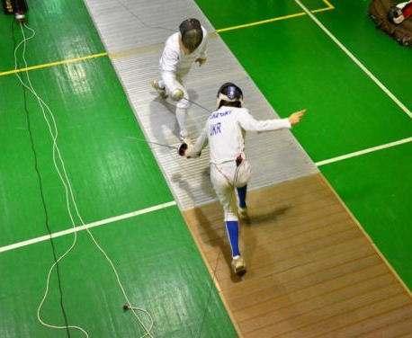 Юные фехтовальщики разыграли первые медали года