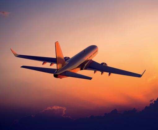 Украинские авиакомпании увеличили количество пассажиров почти на треть