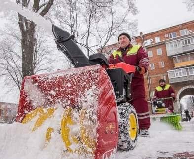 На харьковские улицы вышли новые снегоочистители