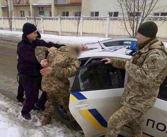 В Харькове задержали беглого бойца АТО