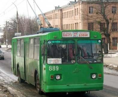 Два харьковских троллейбуса изменят маршруты