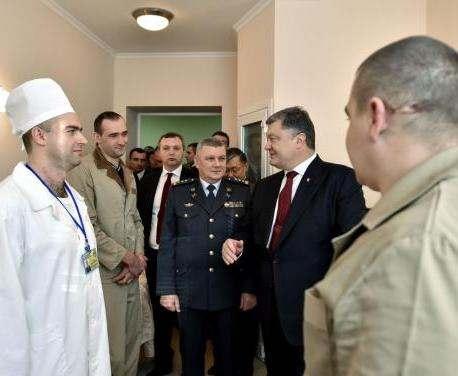 Президент отметил наградами воинов-пограничников