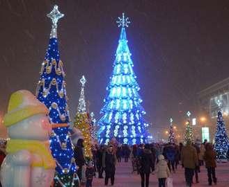 Площадь Свободы в Харькове остается перекрытой