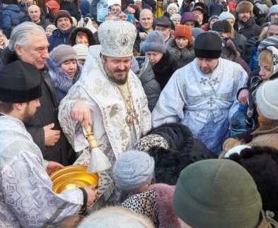 В Харькове отметили праздник Крещения