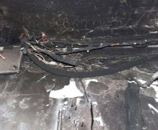 В Харькове на пожаре спасли детей